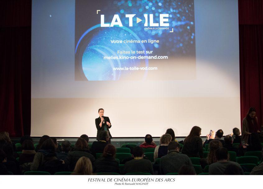 LA TOILE - LES ARCS 2016
